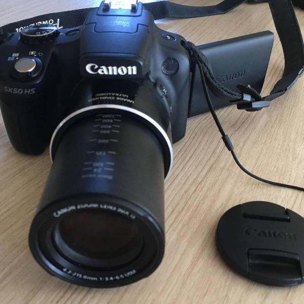 Câmera cânon powershot