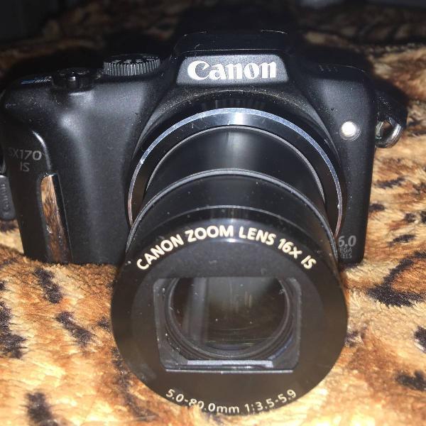 Câmera cânon powershot sx170 is