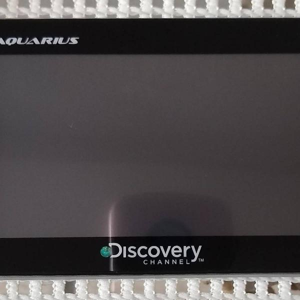 gps automotivo aquarius discovery channel slim, tela 4.3""