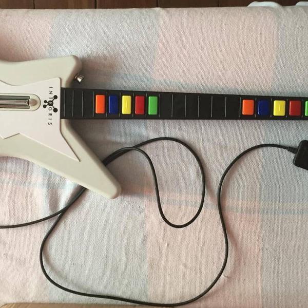Guitarra para guitar hero ps2