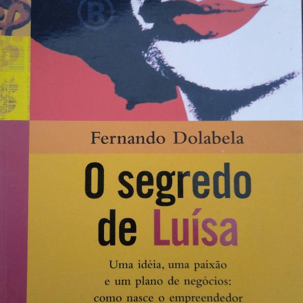 "Livro de empreendedorismo: ""o segredo de luísa""."