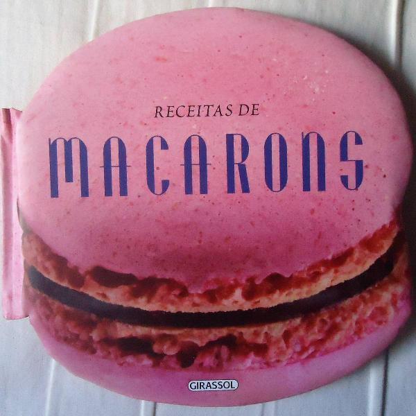 Livro de receitas de macarons