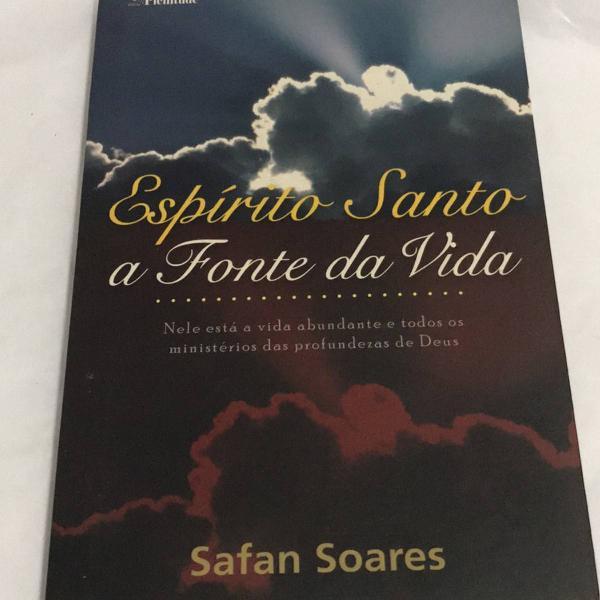 Livro espírito santo a fonte da vida
