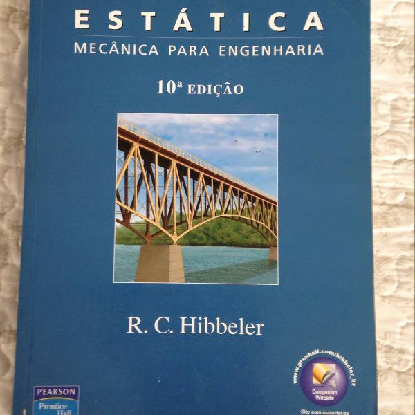 Livro mecânica estática - hibbeler