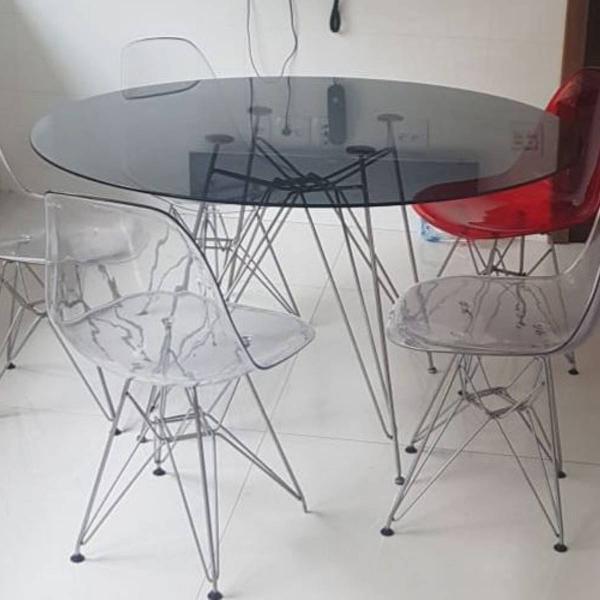 Mesa de jantar charles eames