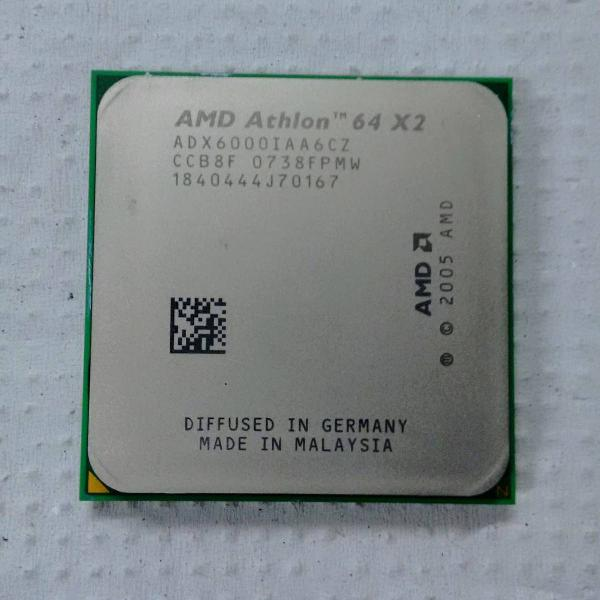 Processador amd athlon 64 x2 6000+ 3.0 ghz socket am2+