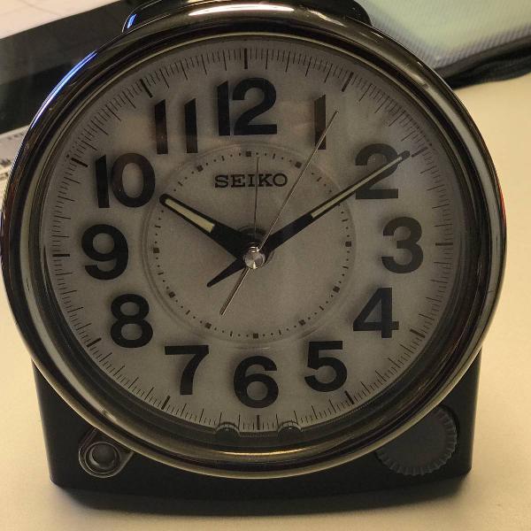 Relógio seiko original de mesa