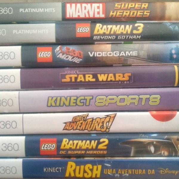 Vendo jogos para xbox 360 usados