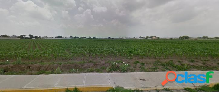 Terreno residencial en s. m. totocuitlapilco metepec