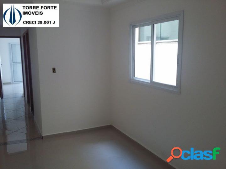 Lindo apartamento cobertura com 2 dormitórios em camilopolis. 1 vaga!