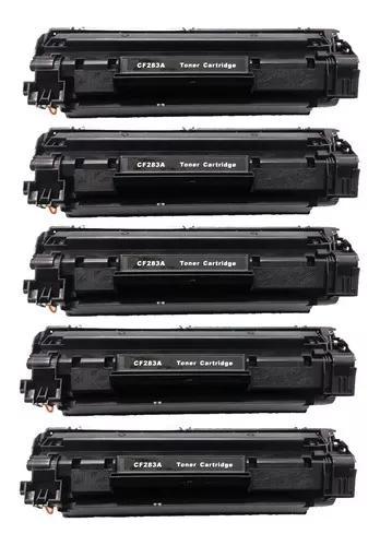 5 toner compatível 83a cf283a m125a m201 m225 m226 m202