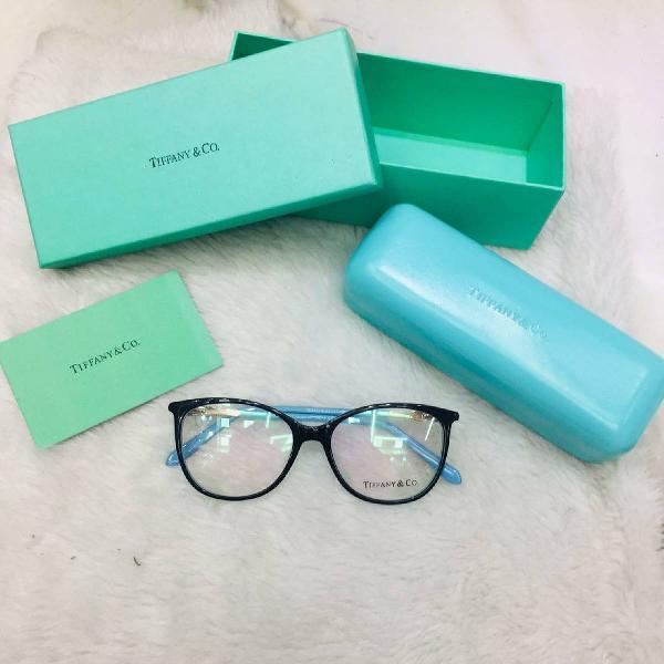 Armação/ óculos de grau tiffany & co. infinity