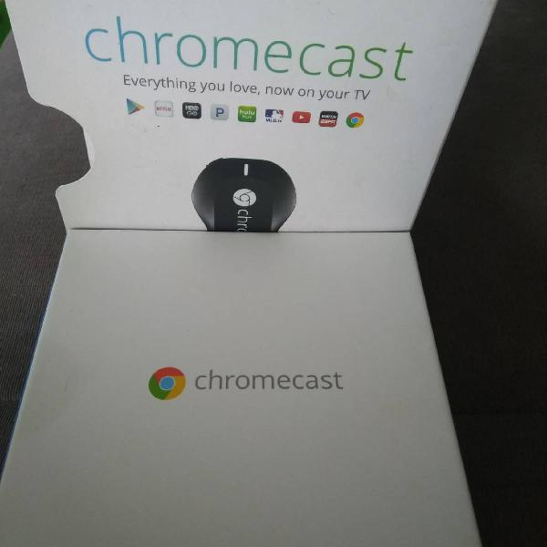 Chromecast usado 2 vezes
