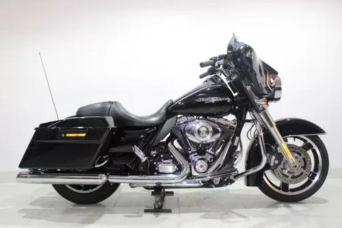 Harley davidson street glide 2013 preta