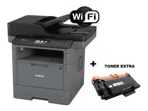 Impressora brother laser multifuncional wifi mfc-l5902dw