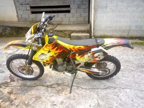 Moto drz400e para trilha único dono
