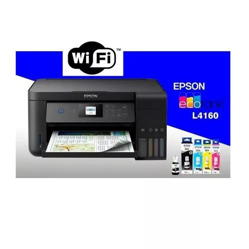 Multifuncional epson l4160 4160 ecotank wifi bivolt duplex