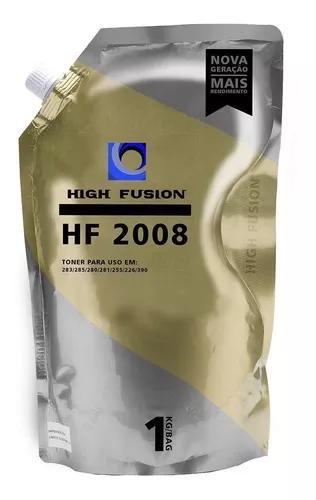 Pó toner high fusion hf2008 hp universal chapado original