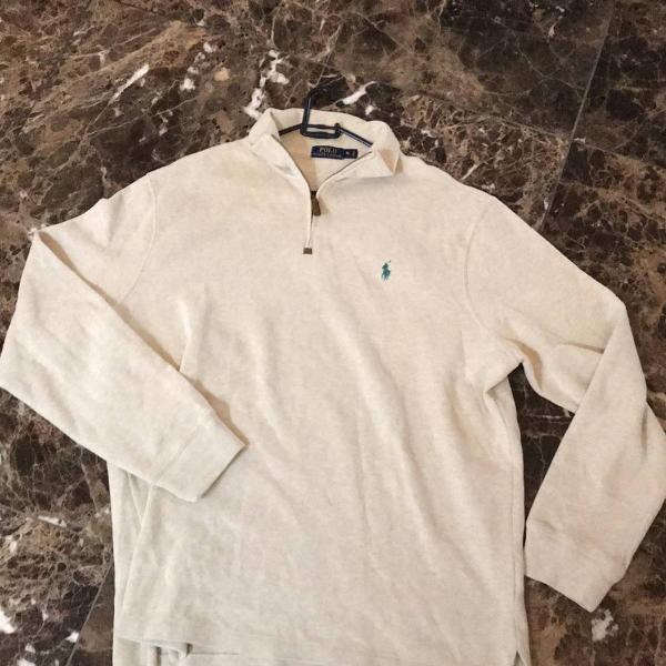 Blusa de lã! polo ralph lauren xl