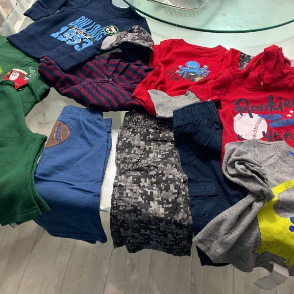Kit roupas infantis inverno 6-18 meses
