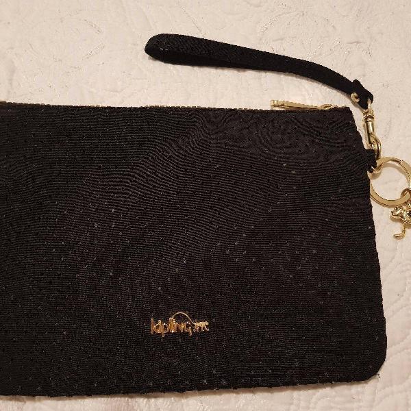 Nécessaire kipling preto coleção
