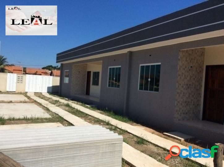 Excelente casa condomínio fechado, 2 Qts, Parque Nanci, Mar 2