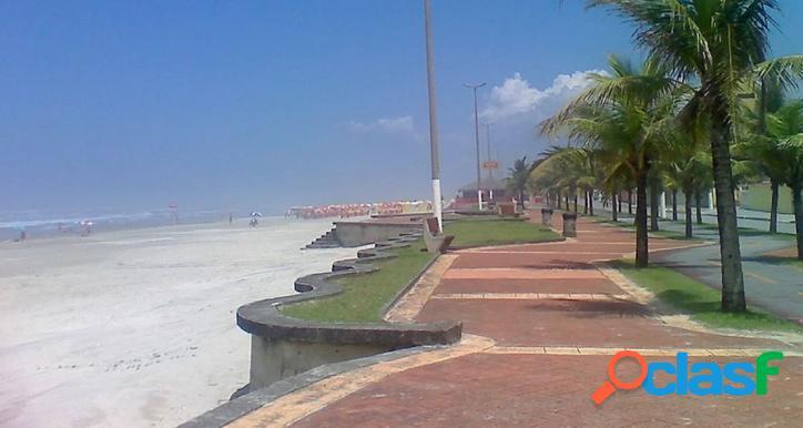 Apartamento praia grande / frente a praia / 1 dormitório / troca
