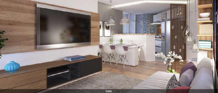 Apartamento com 2 quartos à venda, 57 m² por r$ 380.000