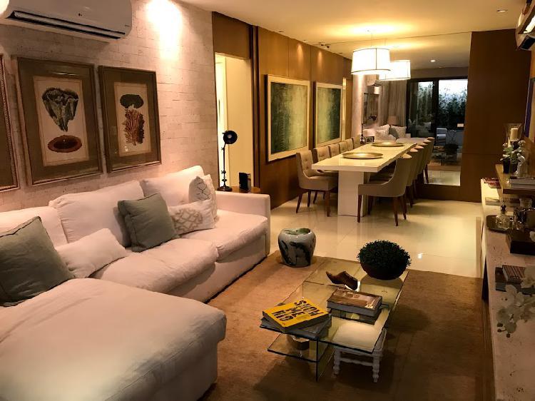 Apartamento com 3 quartos à venda, 134 m² por r$ 830.000
