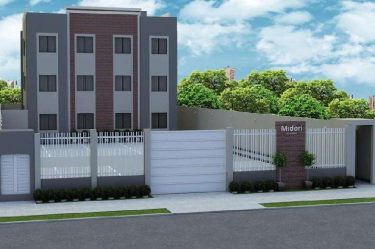 Apartamento com 3 quartos à venda, 54 m² por r$ 165.000