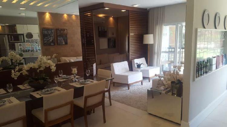 Apartamento com 3 quartos à venda, 82 m² por r$ 515.000