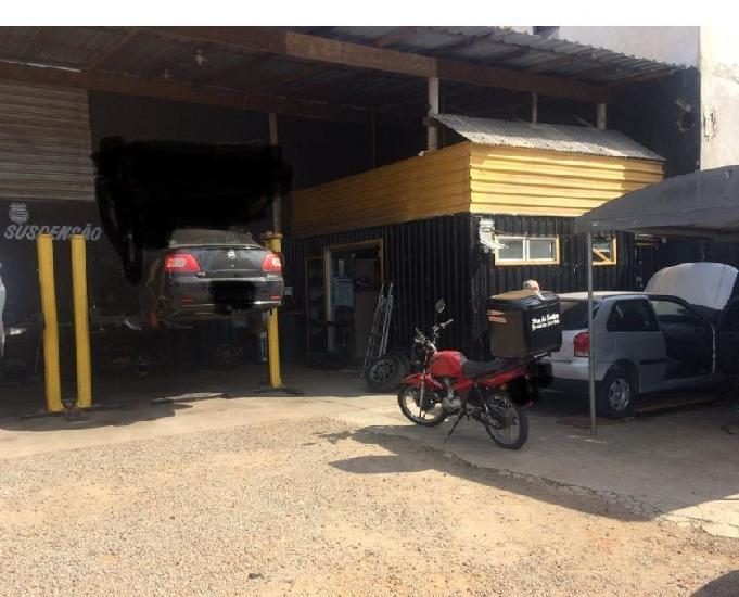 Barracão auto center oficina mecânica completa para retira