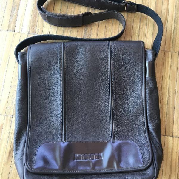 Bolsa couro original impermeável