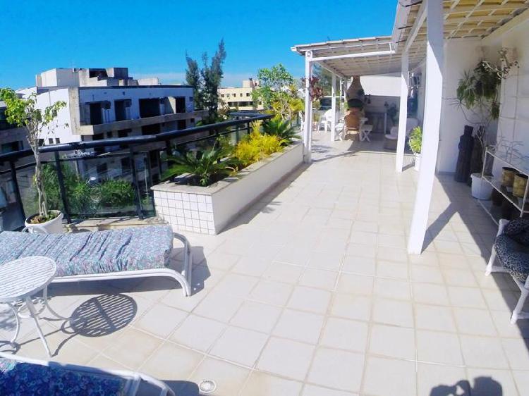 Cobertura com 2 quartos à venda, 180 m² por r$ 880.000