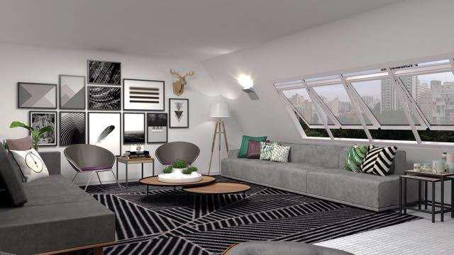 Cobertura com 2 quartos à venda, 225 m² por r$ 1.790.000