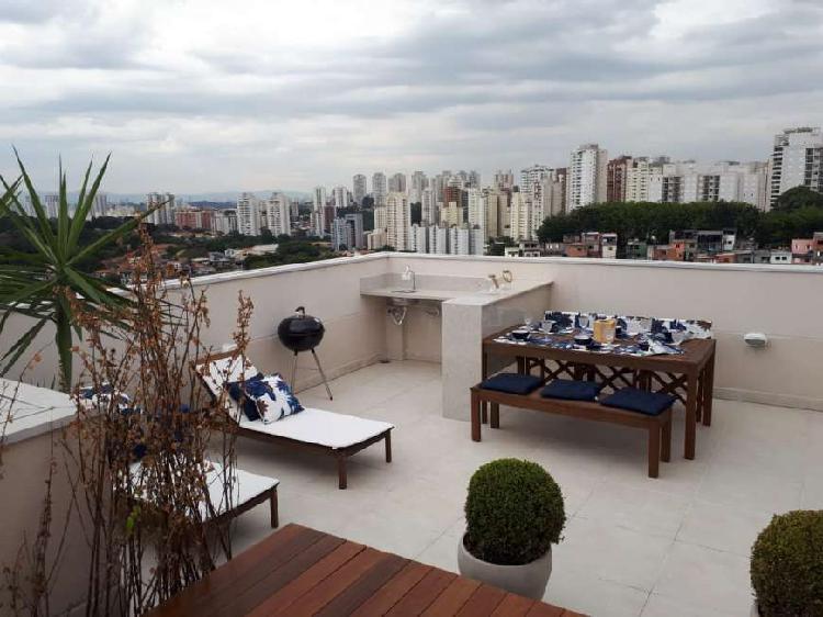 Cobertura com 2 quartos à venda, 84 m² por r$ 299.900 cod.