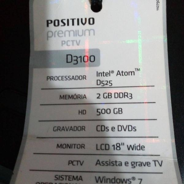 Computador pc tv