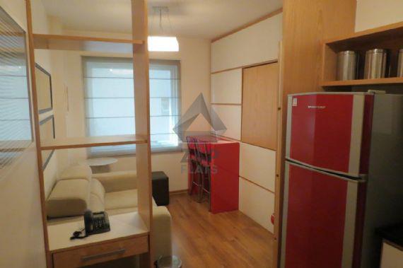 Flat com 1 quarto à venda, 30 m² por r$ 350.000 cod. 1497
