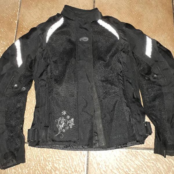 Jaqueta para motociclista riffel