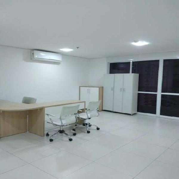 Sala comercial para alugar, 40 m² por r$ 1.300/mês cod.