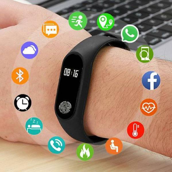 Smart watch unisex smartwatch para android ios rastreador de