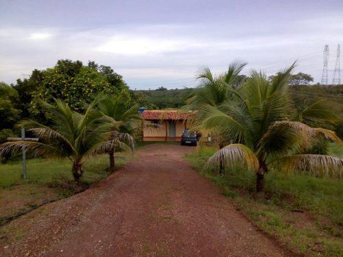 Taboquinha-GO Chácara 50.000m2 + Casa Beira Rio Aceito