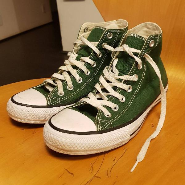 All star converse cano alto verde