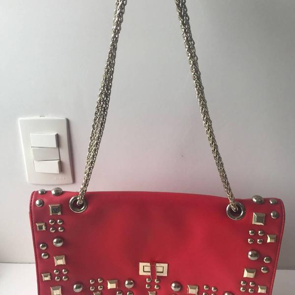 Bolsa arezzo vermelha