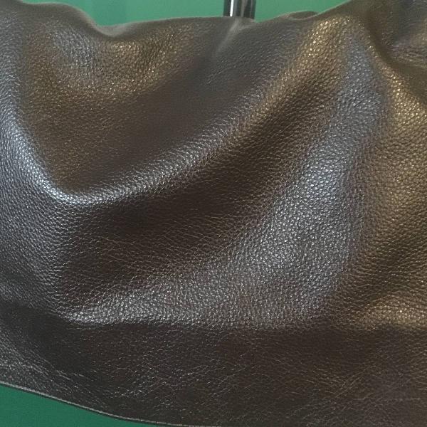 Bolsa carteiro masculina couro
