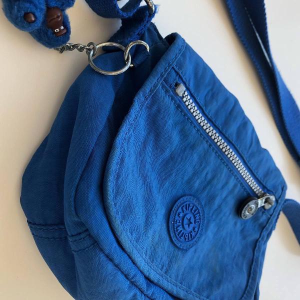 Bolsa pequena original azul caneta kipling
