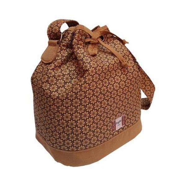 Bolsa saco/ bucket bege