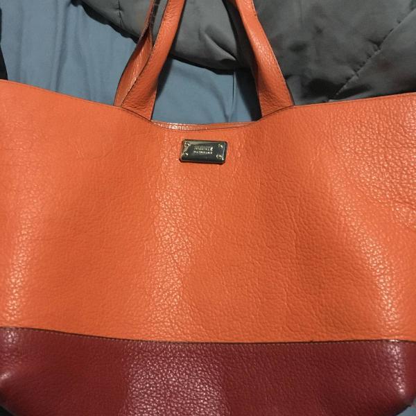 Bolsa schutz verão colorida couro