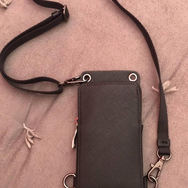 Bolsa tiracolo porta celular pochete