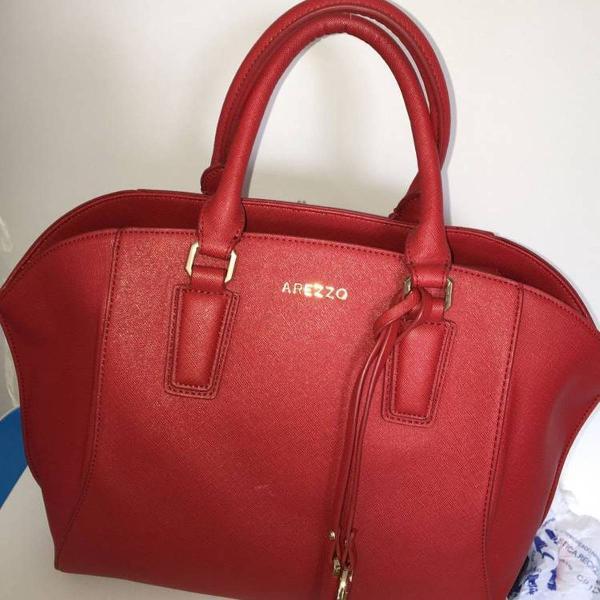 Bolsa vermelha arezzo